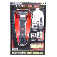 MANGROOMER Ultimate Pro Wet & Dry Men's Rechargeable Electric Body Groomer