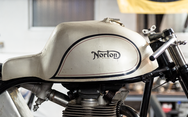 Artifact: Prototype Norton Manx Fuel Tank