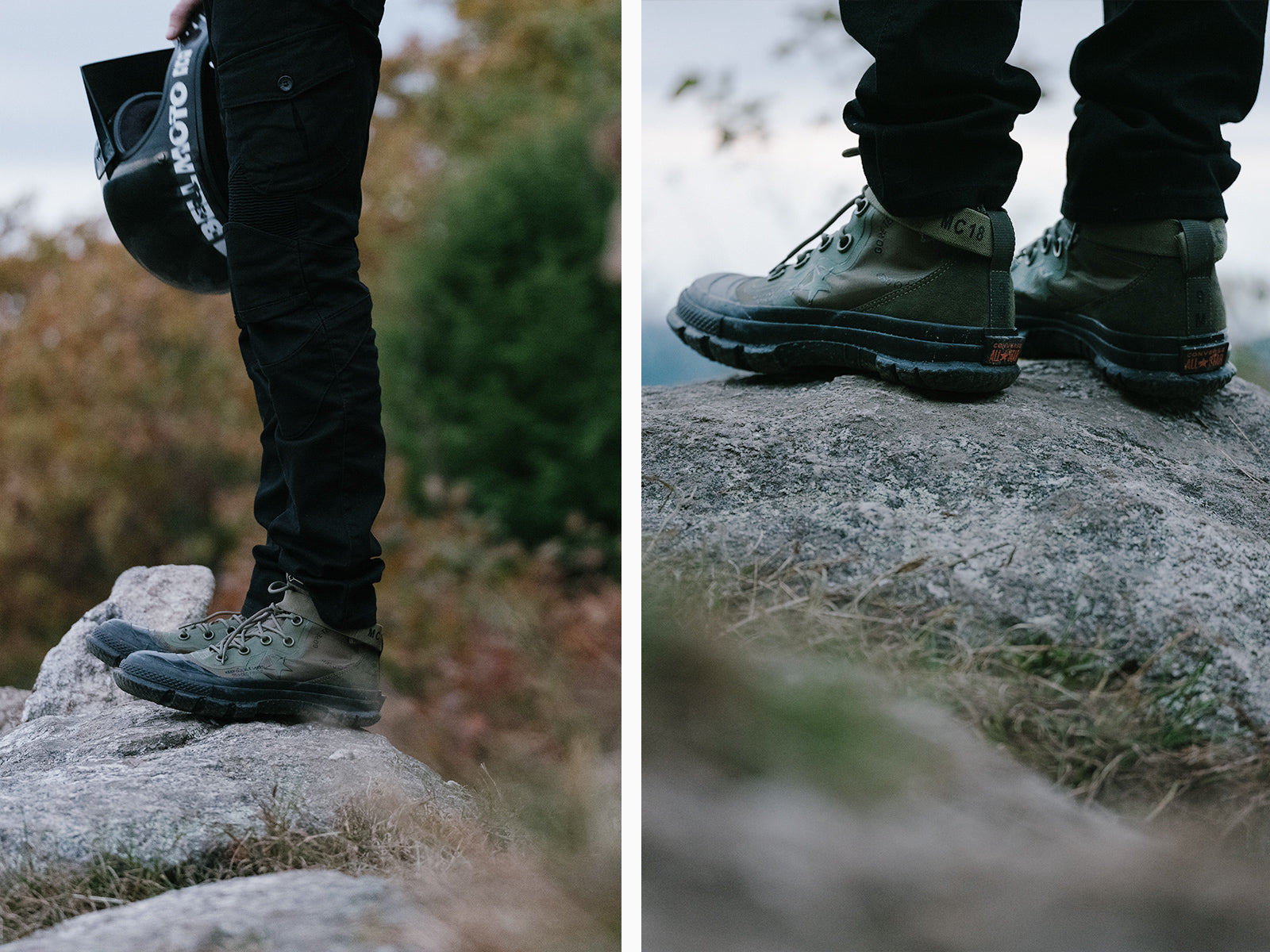separation shoes 6c88a 88f25 Through the design lens of rugged utility, the MC18 collection reinterprets  three classic Converse styles — the Chuck Taylor All Star, ...