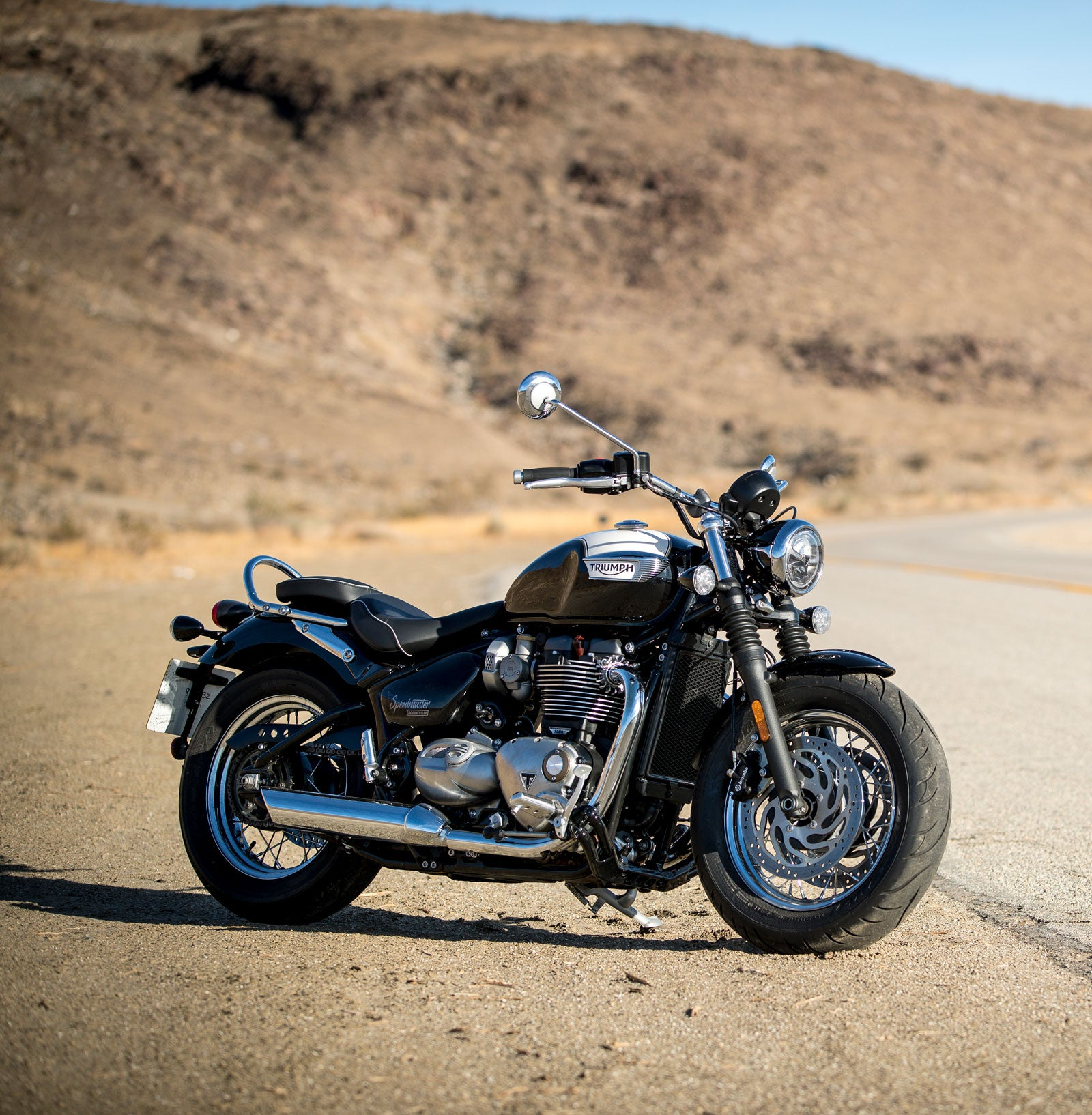 2018 Triumph Bonneville Speedmaster Iron Air