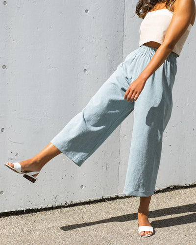 Aura pants - Light denim (Pre-order)