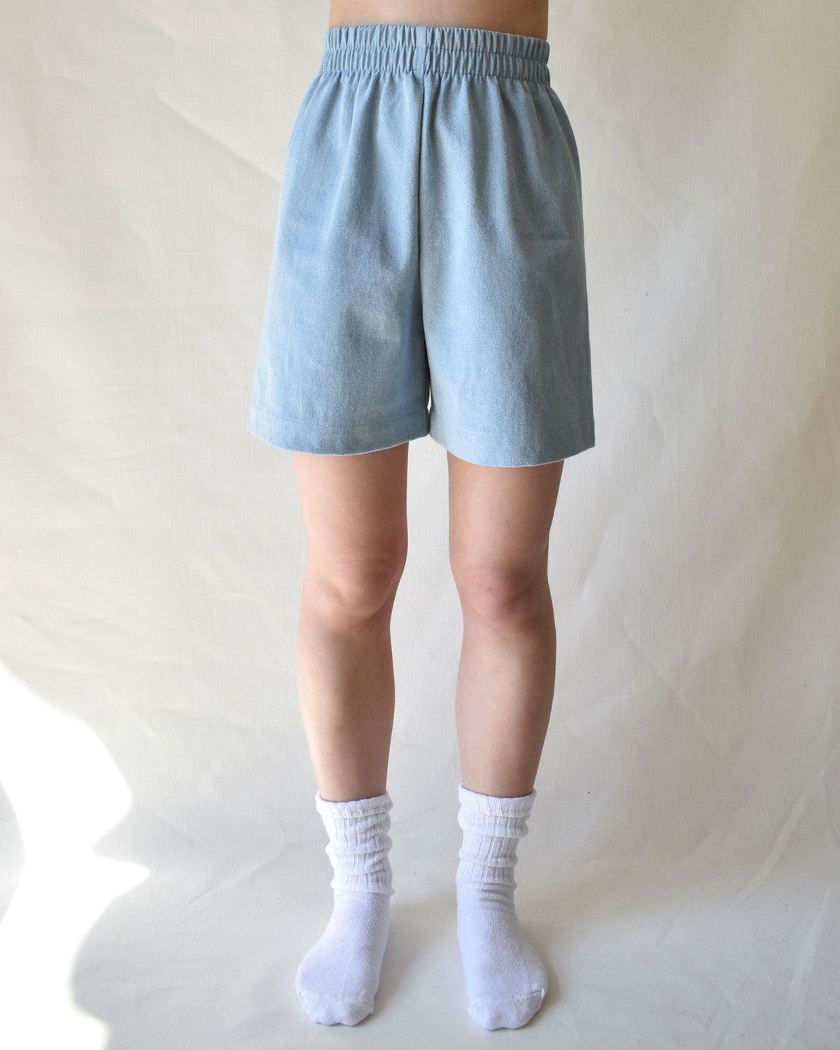 Aura Shorts - Light Denim