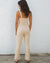 Bardot Jumpsuit - Natural