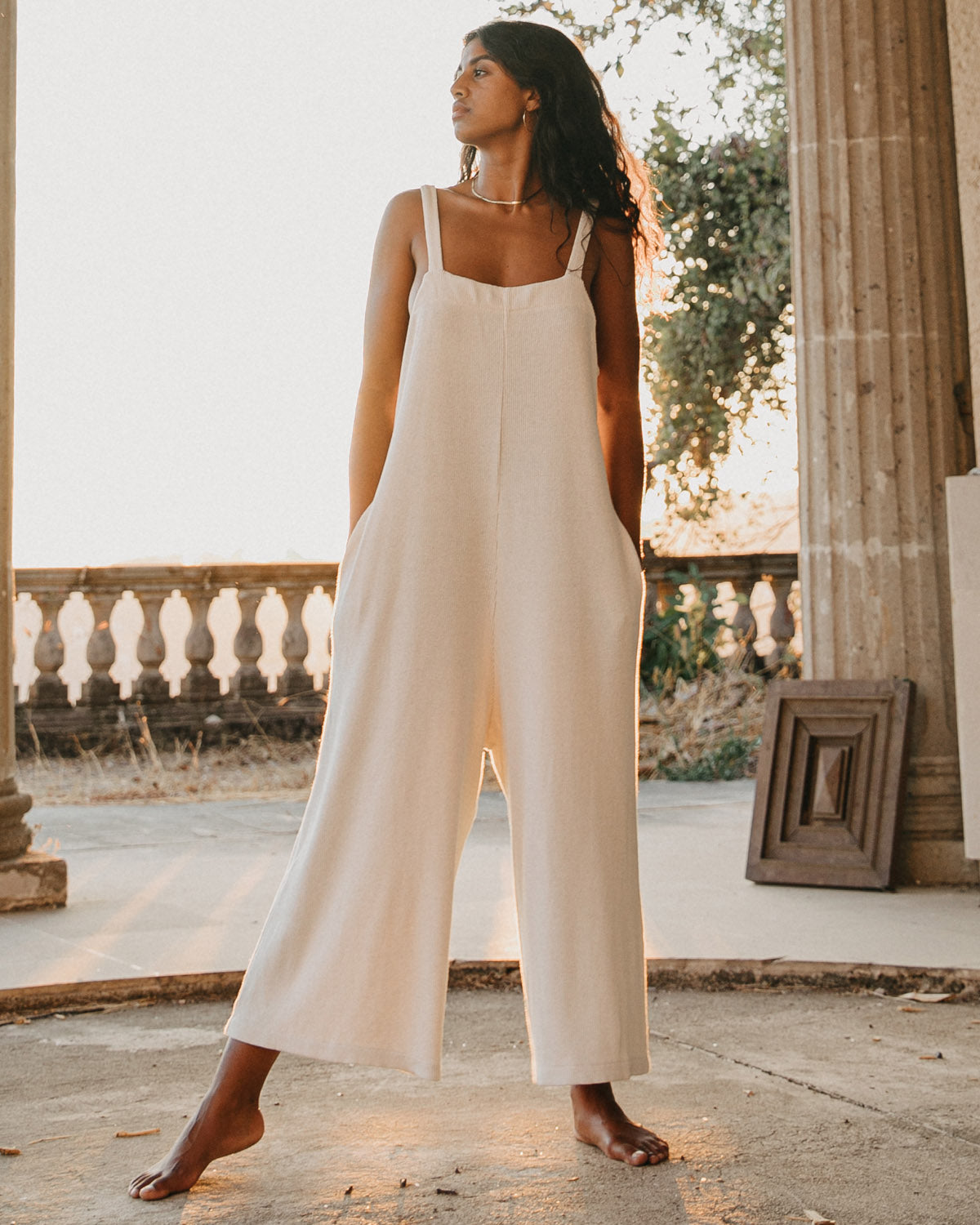 Palermo Jumpsuit - Off-White