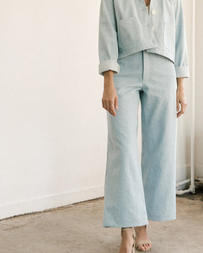 Pierrot Pants - Light Denim - Pre Order