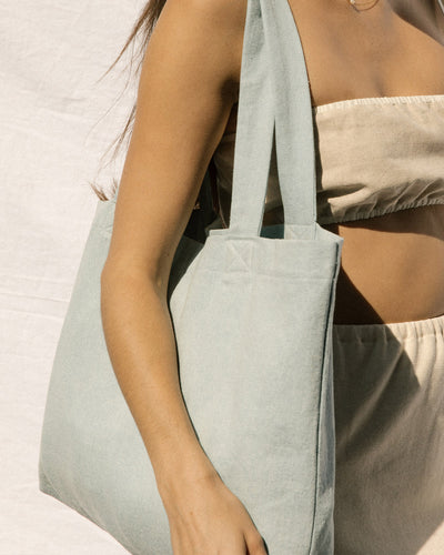 Zero Waste Tote - Light Denim