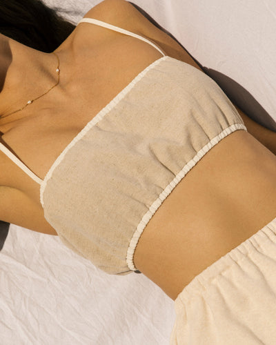 Zero Waste Bandeau - Natural