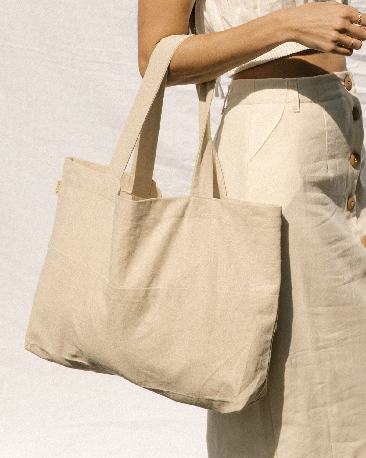 Zero Waste Tote - Natural
