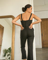 Bardot Jumpsuit - Black