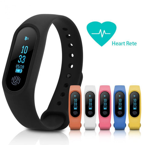 M2 Plus Waterproof Smart Wristband w/Bluetooth, HR Monitor, Anti-lost Reminder Smart  Watch