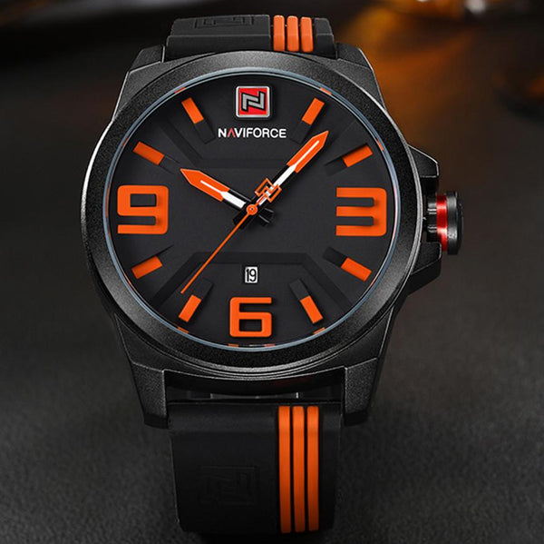 NAVIFORCE New  Men Sport Quartz Watches Colorful Fashion and Casual Watches