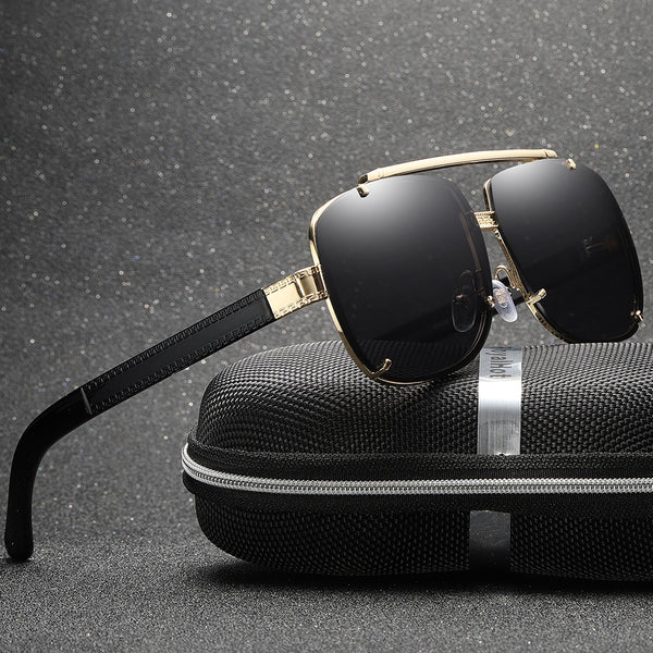 Royal Gentleman's luxury  Complexed pattern UV400  sunglasses glasses