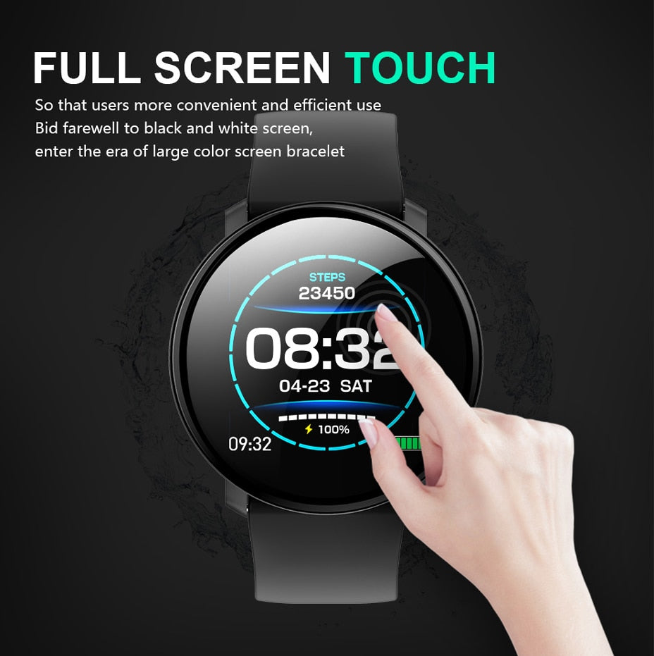 Smart Watch M31 Full Screen Touch IP67 Waterproof Multiple Sports Mode DIY  Smart Watch Face for Android & IOS