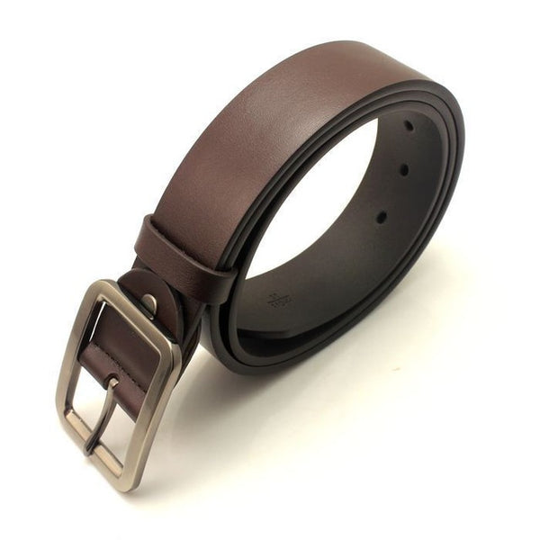 Quality  Belts For Mens Classic genuine Leather belts 4 colors