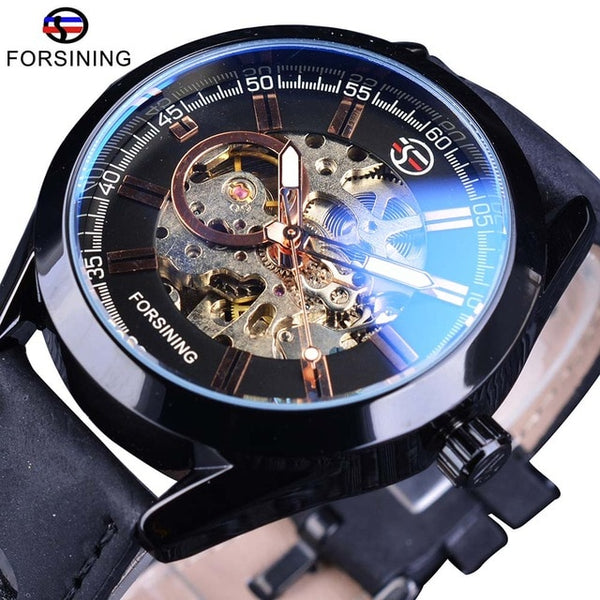 Forsining Casual Sport Series Waterproof Automatic Men Wrist Watch
