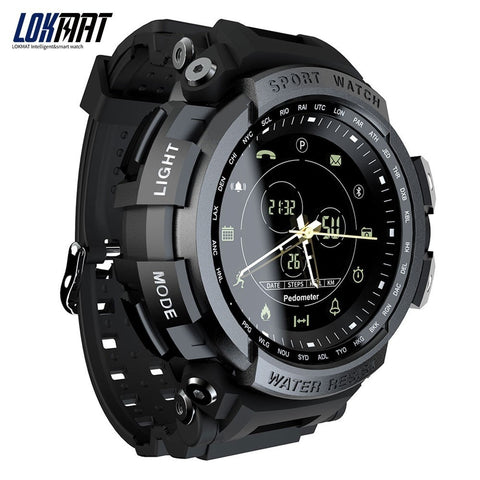 New LOKMAT SmartWatch Sports 50m Waterproof Bluetooth Call Reminder men Smart Watch