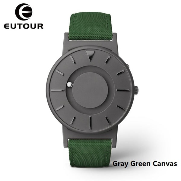 Eutour Magnetic  Luxury Brand Quartz Wrist Watches - Unisex Stainless Steel Watch