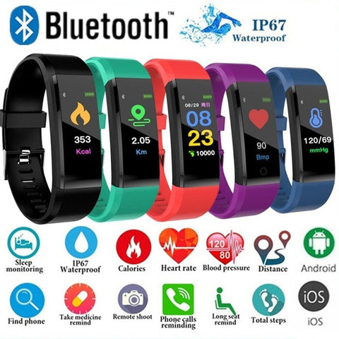 Outdoor Blood Pressure Heart Rate Monitoring Sports Fitness Watches