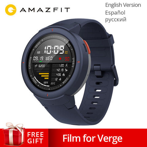 Global Version AMAZFIT Verge 3 GPS Smart Watch LED w/ Call Answer Smartwatch