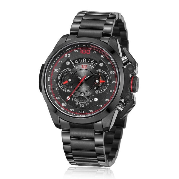 T5 Brand Luxury  Mens Military Quartz Sport Wrist Watch  Chronograph Waterproof