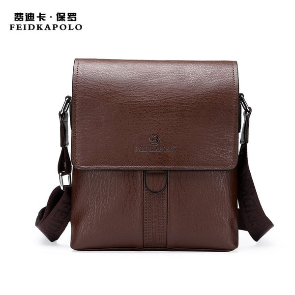 Hot design business leather mens messenger bag,-vintage fashion cross body bag