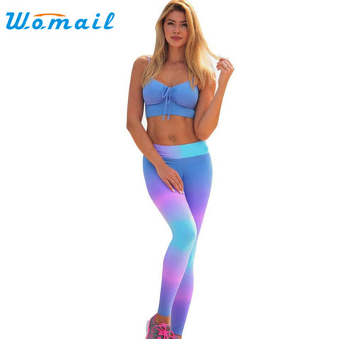 Durable Womens Mid  fitness legging Workout Pants