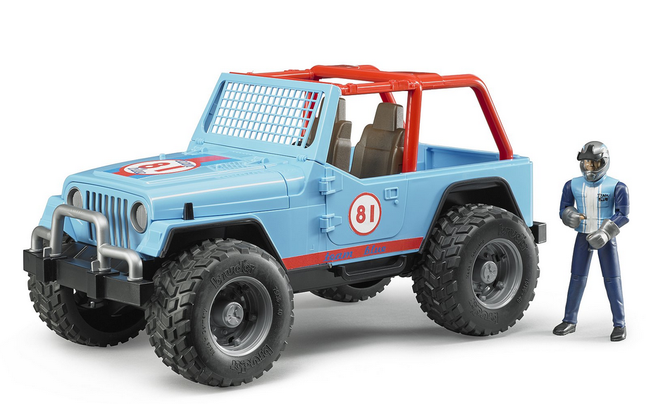 Jeep Cross Country Bleue