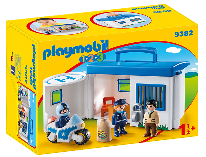 Commissariat de police transportable 9382
