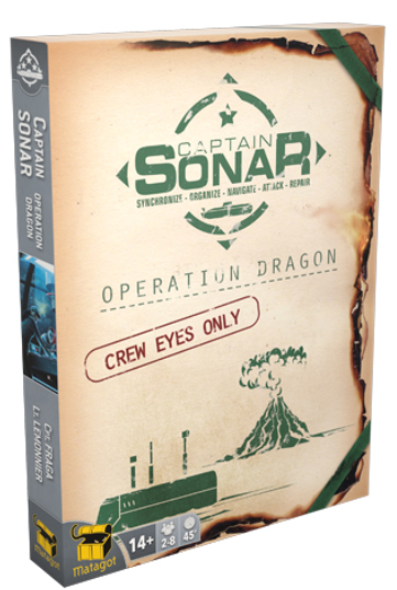Captain Sonar Extension/Upgrade 2, Opération Dragon - Matagot