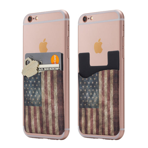 American Flag Cardly Phone Pocket
