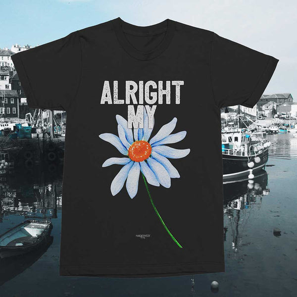 Alright My Flower Cornish dialect T-shirt