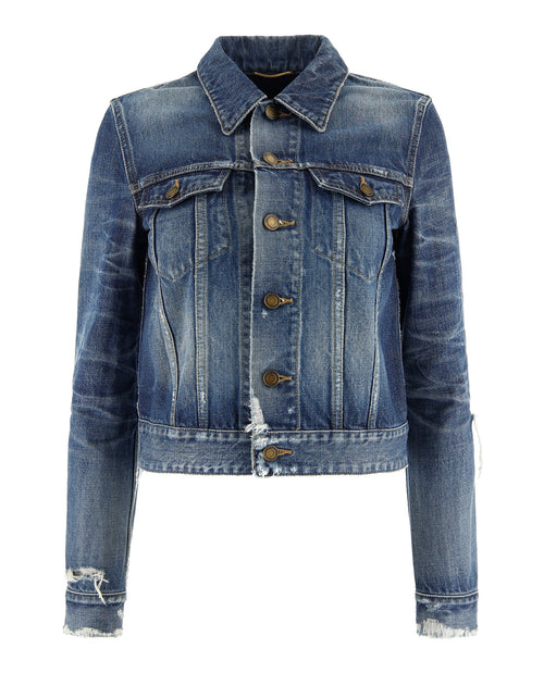 Saint Laurent Vintage Denim Outerwear