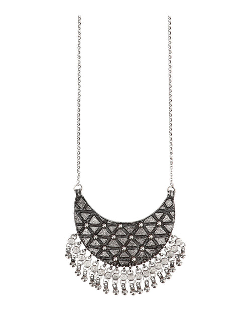 Saint Laurent Marrakech Half-moon Necklace
