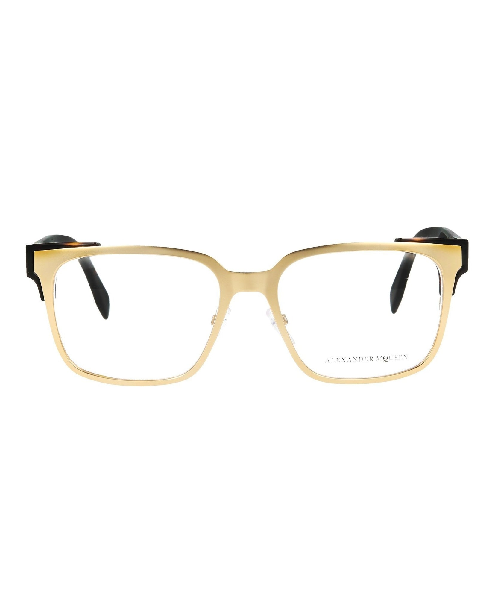 Alexander McQueen Square-Rectangle Optical Frames