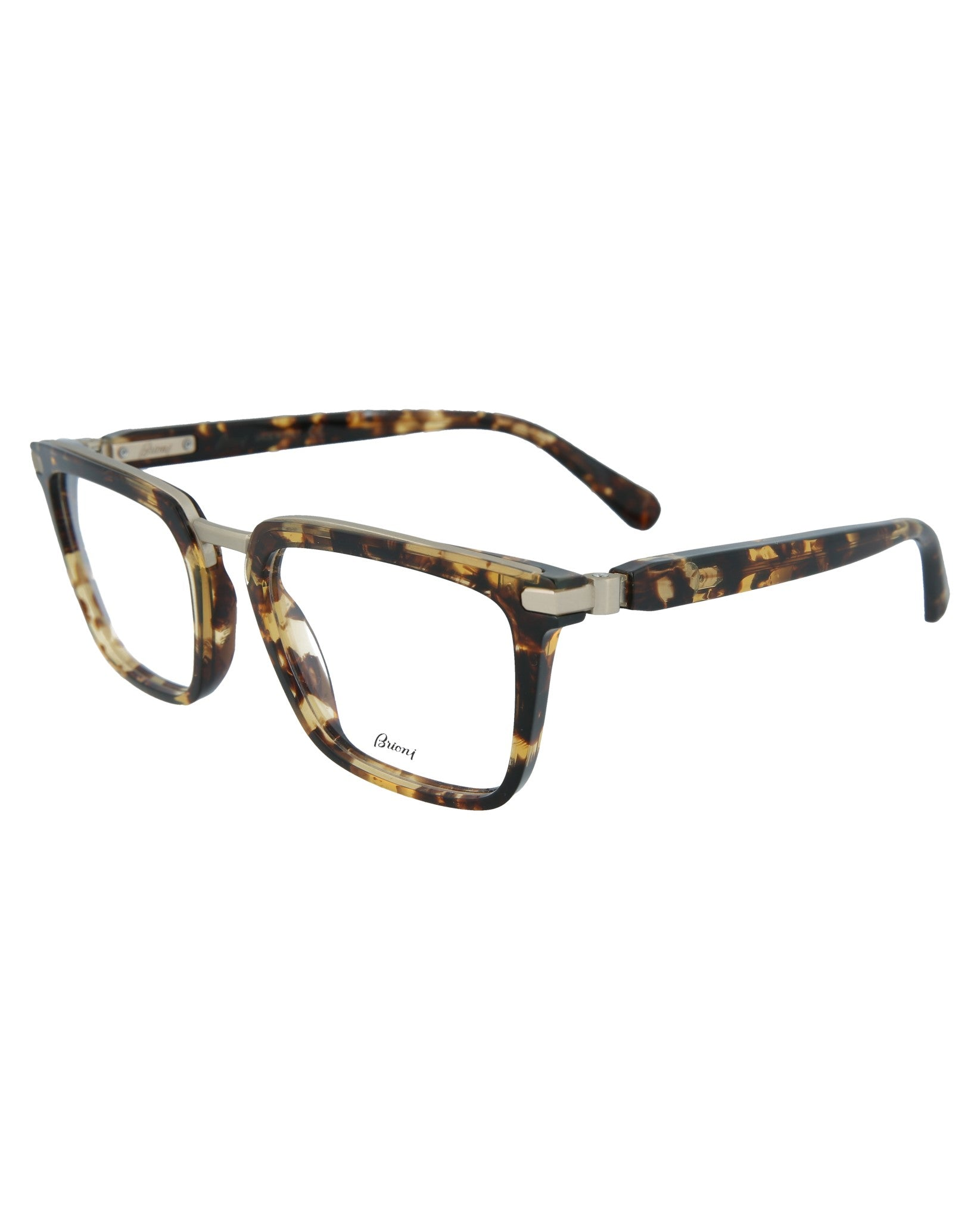 Brioni Round-Oval Optical Frames