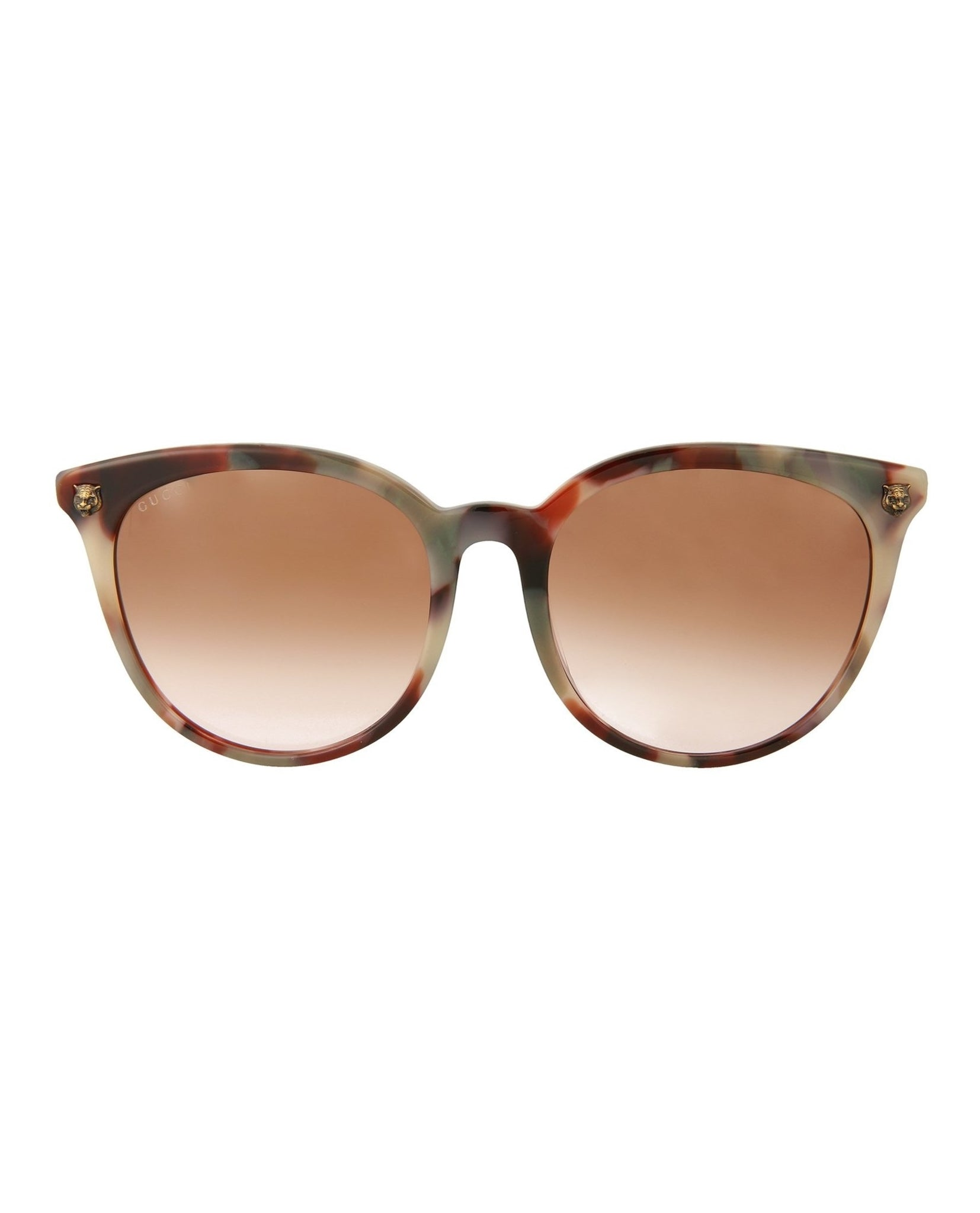 418e188891 Gucci Womens Round Oval Sunglasses