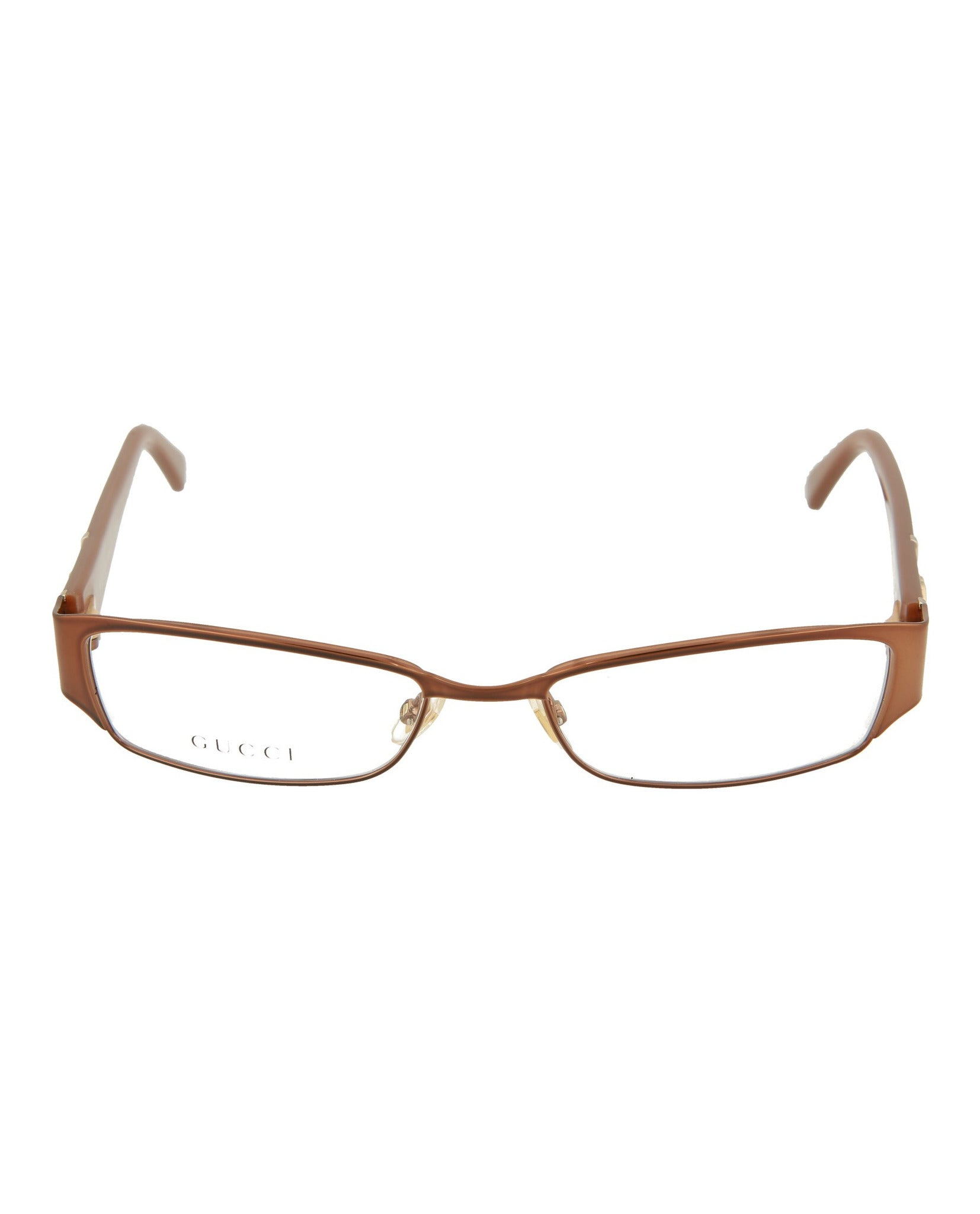 e03dae172a20 Gucci Womens Square/Rectangle Optical Frames   Madaluxe Vault ...