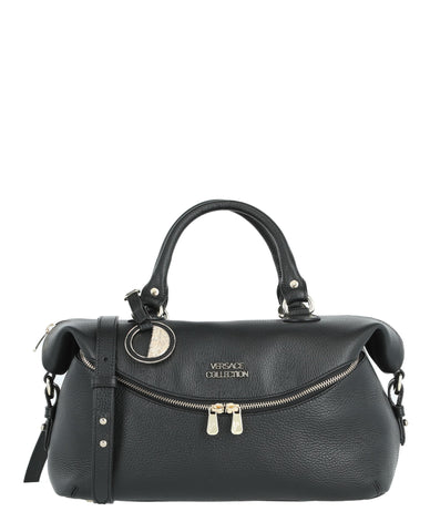 fd386aedb2 Leather Top Handle Bag