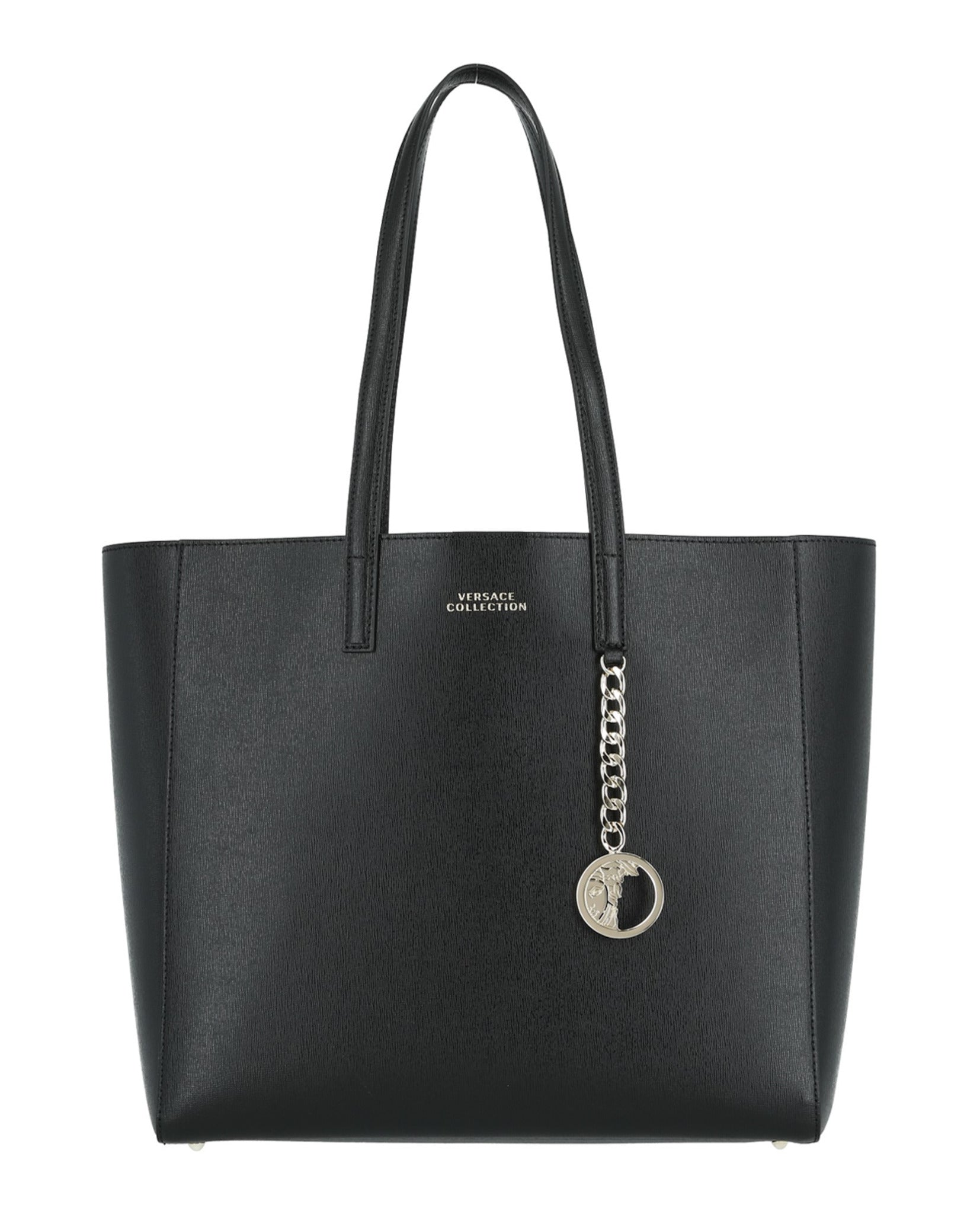 Versace Collection Logo Leather Tote – MadaLuxe Vault 5b220c893c3cc