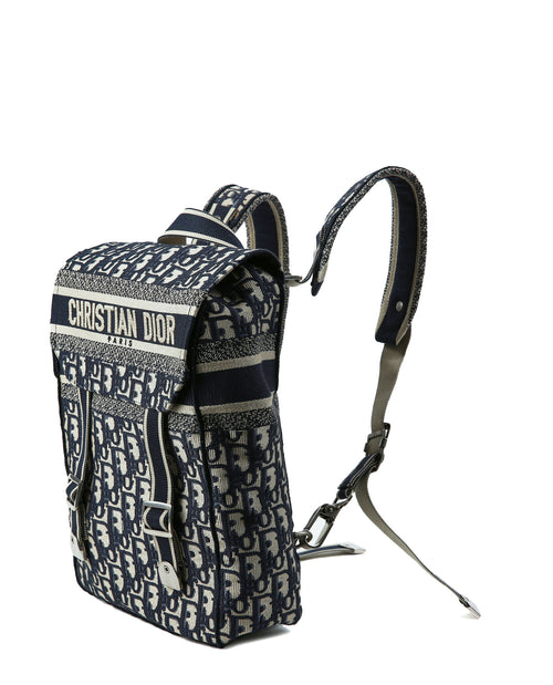 Dior Dior Oblique Jacquard Backpack