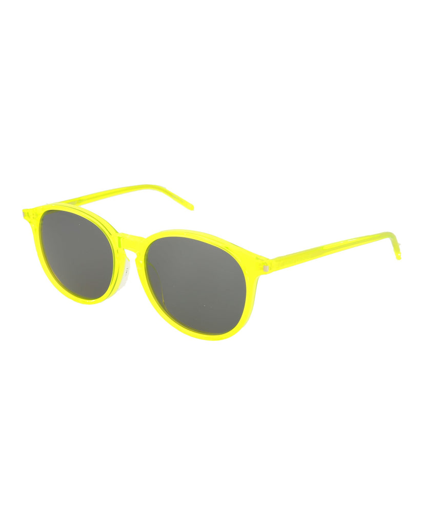Shiny Transparent Fluorescent Yellow