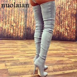 Women's Over Knee Winter Boots