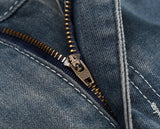 Zipped and Ripped - Men's Custom Damaged Jeans - Signature By Shawn Broadnax