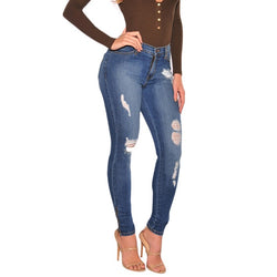Damaged Envy - Women's Custom Damaged Jeans - Signature By Shawn Broadnax