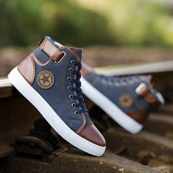 Men's High Top Casual Sneakers
