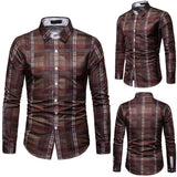 Casual Business Men Dress Shirts