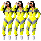 Colorful 2 Piece Set Women's Sporty Set