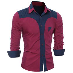 Men's Fashion Long-Sleeve Shirt