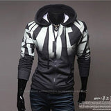 Men's Gradient Hoodie Zipper