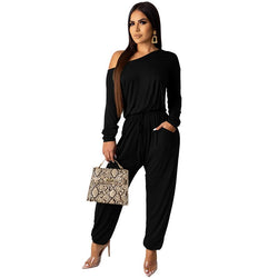 Cold Shoulder One Piece Women's Romper